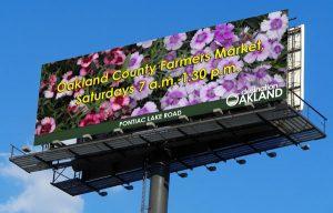 Oakland County Parks Billboard
