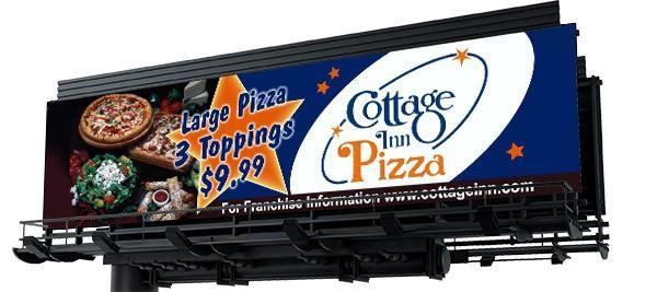 Cottage Inn Pizza Billboard