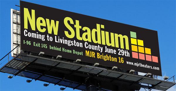 MJR Brighton Billboard