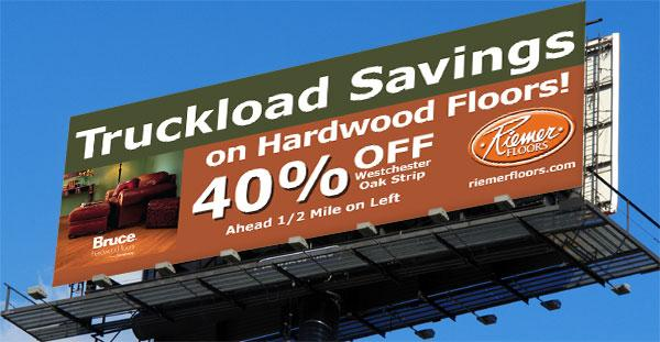 Reimer Floors Billboard