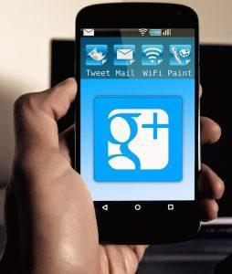 Google Plus App for Phones